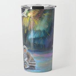 Inuit Happy New Year Travel Mug