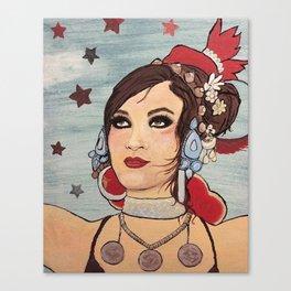 Rachel Brice Canvas Print