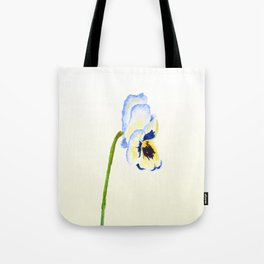 one  pansy Tote Bag