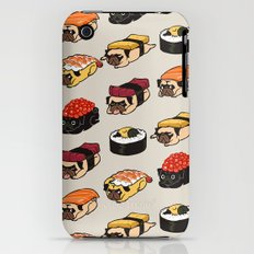 Sushi Pug Slim Case iPhone (3g, 3gs)