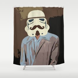 Proper Stormtrooper Shower Curtain