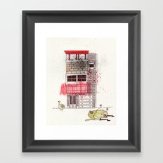 The intimacy had disappeared Framed Art Print