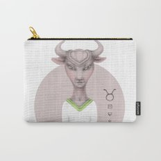 taurus astro portrait Carry-All Pouch