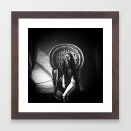 Queen Darkly Framed Art Print