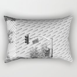 The Broad In the Afternoon Black & White Photography Rectangular Pillow