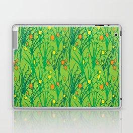 Droopy Flowers Laptop & iPad Skin
