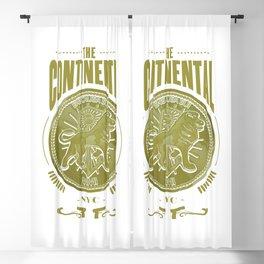 John Wick Continental Hotel Blackout Curtain