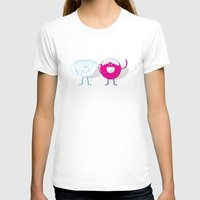donut T-shirts featuring Donut by Tony Vazquez
