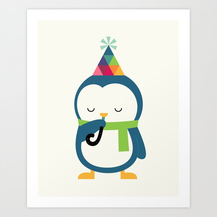 Everyday Birthday Art Print