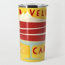 All American Classic Red Velvet Cake Travel Mug