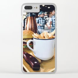 Cup of Fries Clear iPhone Case