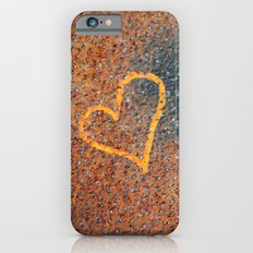 Rusted Heart iPhone 6s Slim Case