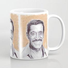 Sammy Davis Jr Pen Drawing  Coffee Mug