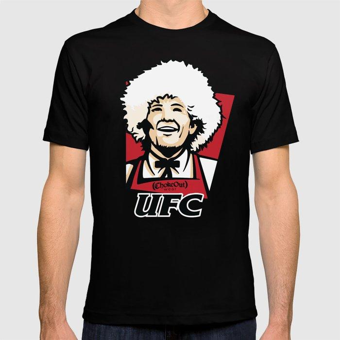 77ae3f3c5 UFC-KFC Khabib Nurmagomedov T-shirt by albertobravo   Society6