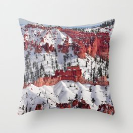 Bryce Canyon - Sunset Point III Throw Pillow