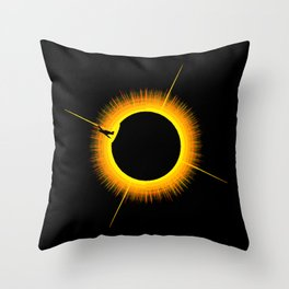 On Approach Throw Pillow