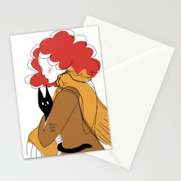 Martha with Cat Stationery Cards