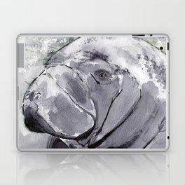 Manatee - Animal Series in Ink Laptop & iPad Skin