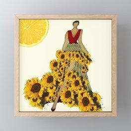 Life In A Sundress Framed Mini Art Print