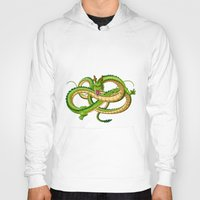 dragon ball Hoodies featuring Shenron Dragon ball by OverClocked