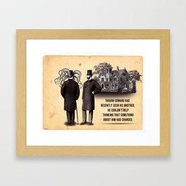 Cthulhu Pathos Framed Art Print