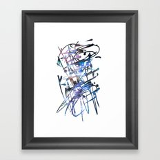 Acuatik Framed Art Print