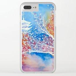 Senso-ji Clear iPhone Case