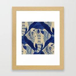 Elephant Doodle #1 Framed Art Print