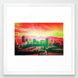 mile high state of mind 2 Framed Art Print