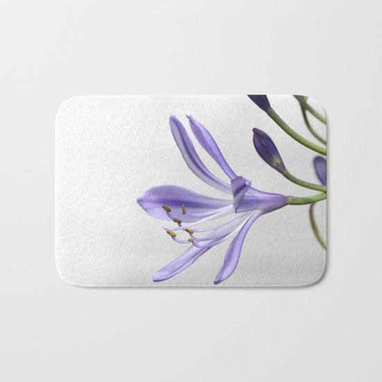 purple lily Bath Mat