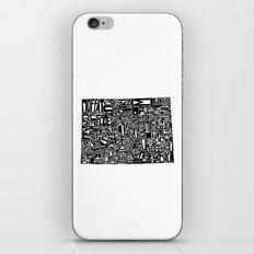Typographic Colorado iPhone & iPod Skin