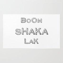 BoomShakaLak Rug