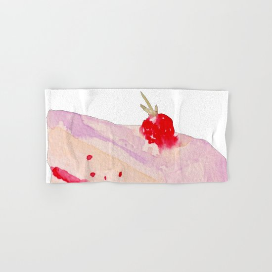 Strawberry Cake Hand & Bath Towel