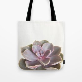 Purple Succulent Tote Bag