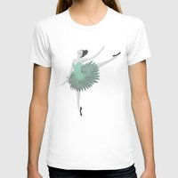 ballet T-shirts featuring BALLET by Kiley Victoria