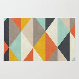 Abstract Triangles Minimalist Rug
