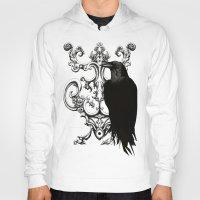 raven Hoodies featuring Raven by Кaterina Кalinich