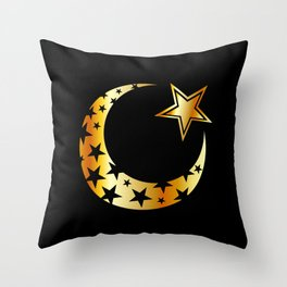 The Islamic star Throw Pillow