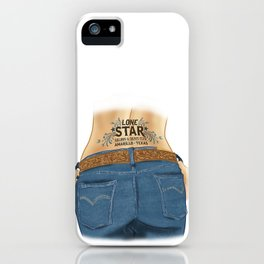 Lone Star Saloon and Dance Club, Amarillo, Texas iPhone Case
