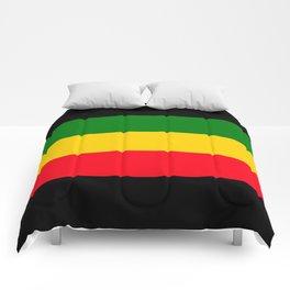 Rastafarian Colors Comforters