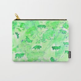 Watercolor Tardigrade Illustration Carry-All Pouch
