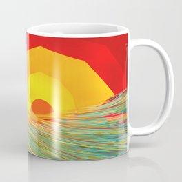 Waves at Sunrise One Coffee Mug