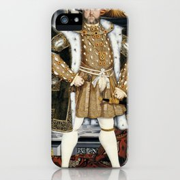 Henry VIII portrait iPhone Case