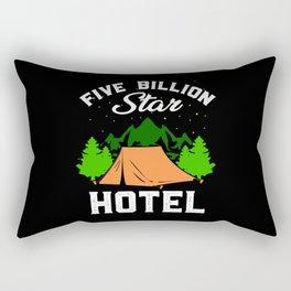 Camping - Five Billion Star Hotel Rectangular Pillow