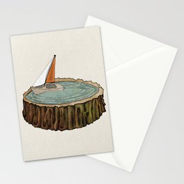 Missed the Boat Stationery Cards