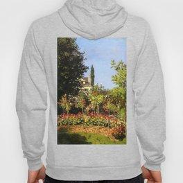 Monet : Garden in Bloom At Sainte-Addresse Hoody