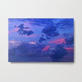 Sierra Blanca Sunset III Metal Print