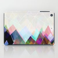 mountain iPad Cases featuring Graphic 104 by Mareike Böhmer