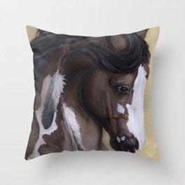 Mookaite Throw Pillow