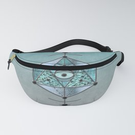 Sacred Geometry Eye Of Protection Fanny Pack